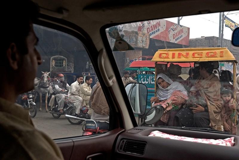 Lahore-Traffic Jam