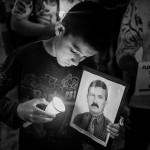 Primer encuentro de víctimas de falsos positivos en Ocaña, Colombia.