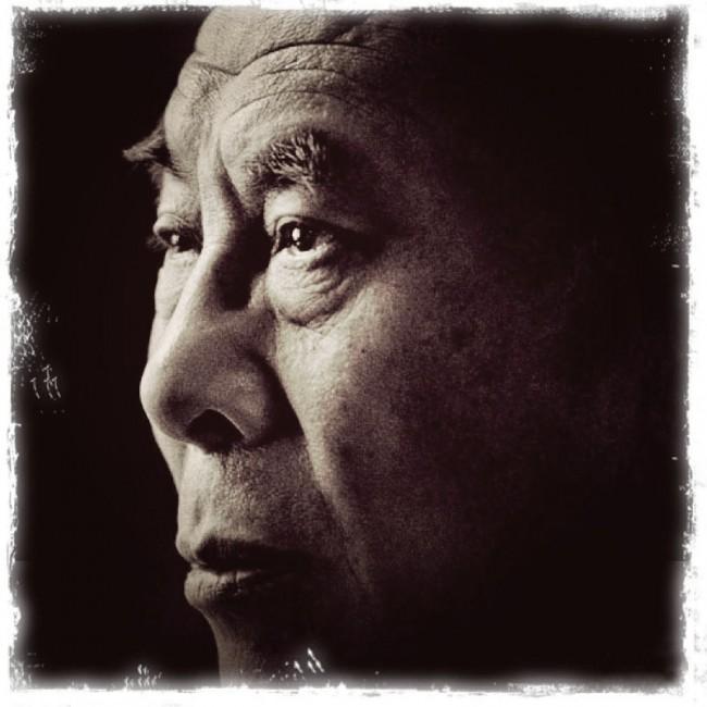 Dalai Lama - Sepia