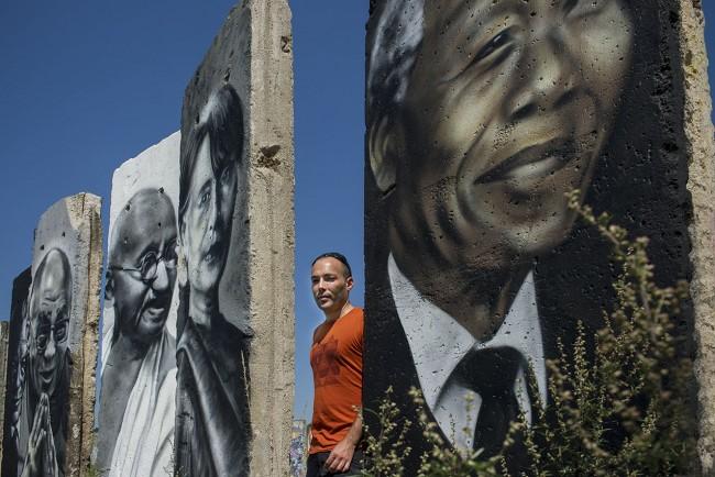 Muro - Pintura de Víctor Landeta - Berlin 3351