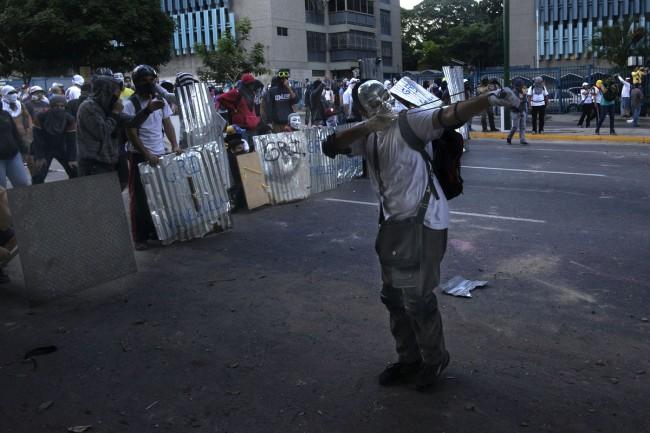 Venezuela antigoverment protest