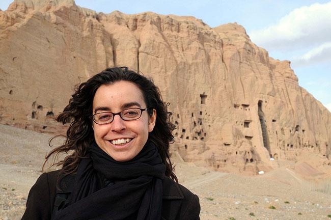 GEA Mònica Bernabé a Bamiyan (Afganistan) Mikel Ayestaran