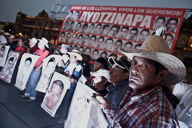GEA Accion Global por Ayotzinapa 03