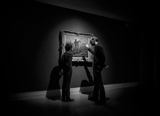 Mons - Museo Beaux-arts Bam - Expo Van Gogh 067