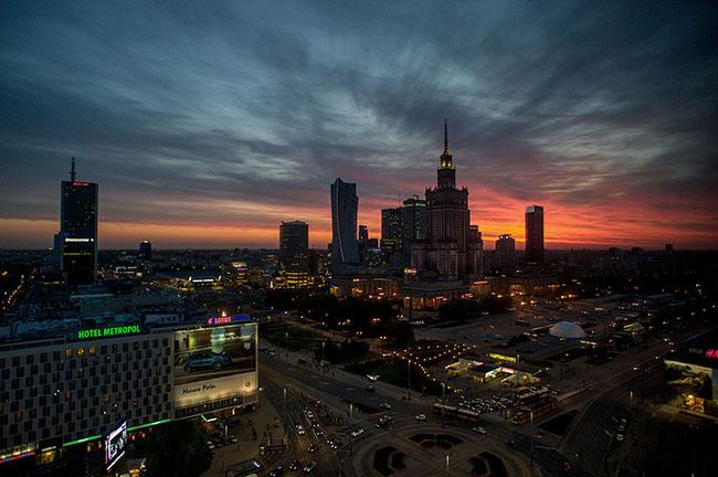 Varsovia - Plaza de la Constitución 9630 GEA